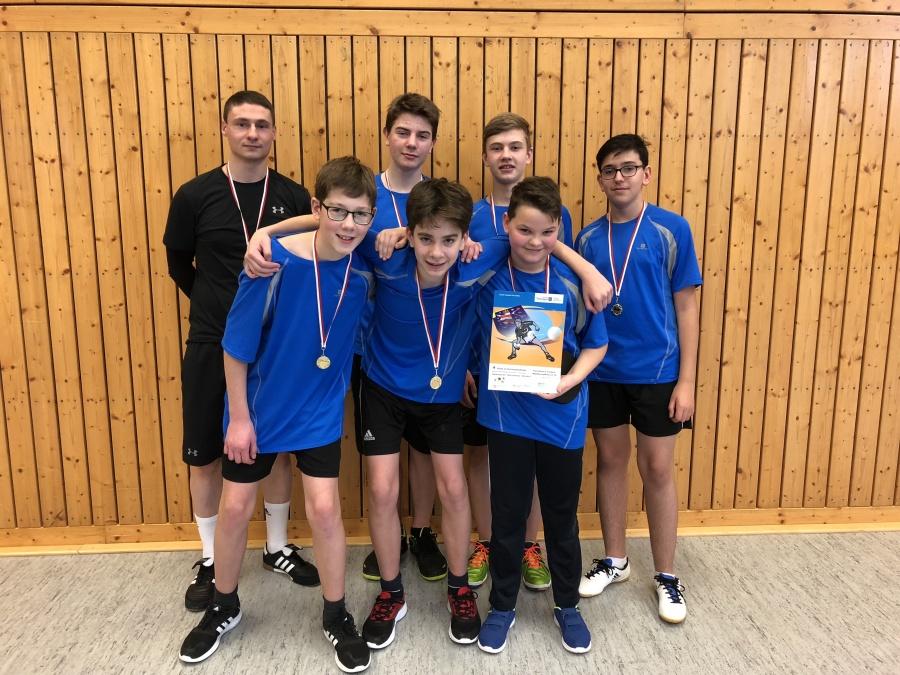 Schulamtsfinale Tischtennis WK 3 Jungen