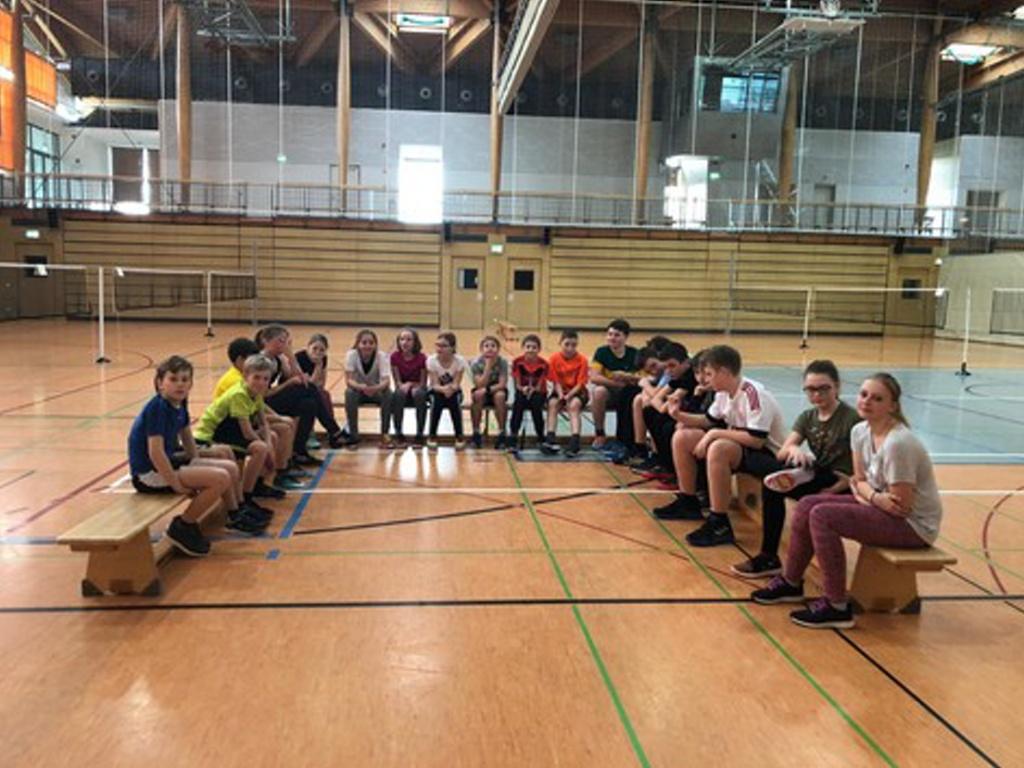 Badmintonturnier des Gymnasiums Gleichense