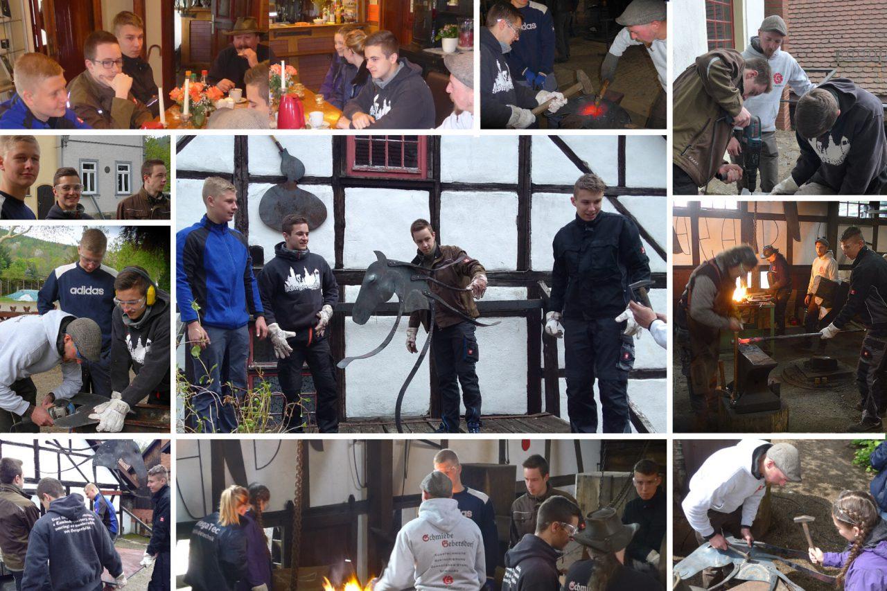 BOREAS – VERY HOT Schmiedesymposium Tobiashammer 2019 – Tag der Schüler