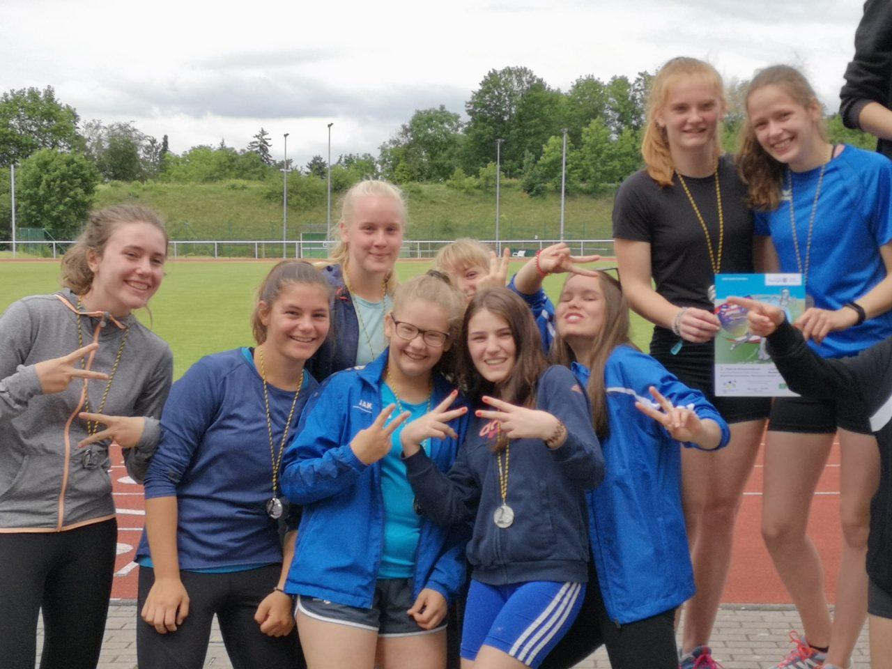 JtfO – Leichtathletik – Schulamtsfinale in Arnstadt 2. Runde erfolgreich abgeschlossen