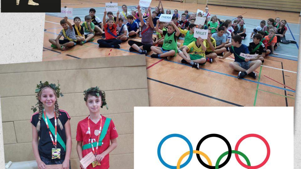 """Olympia am Gleichense! – Projekttag """"Antike Olympische Spiele"""""""