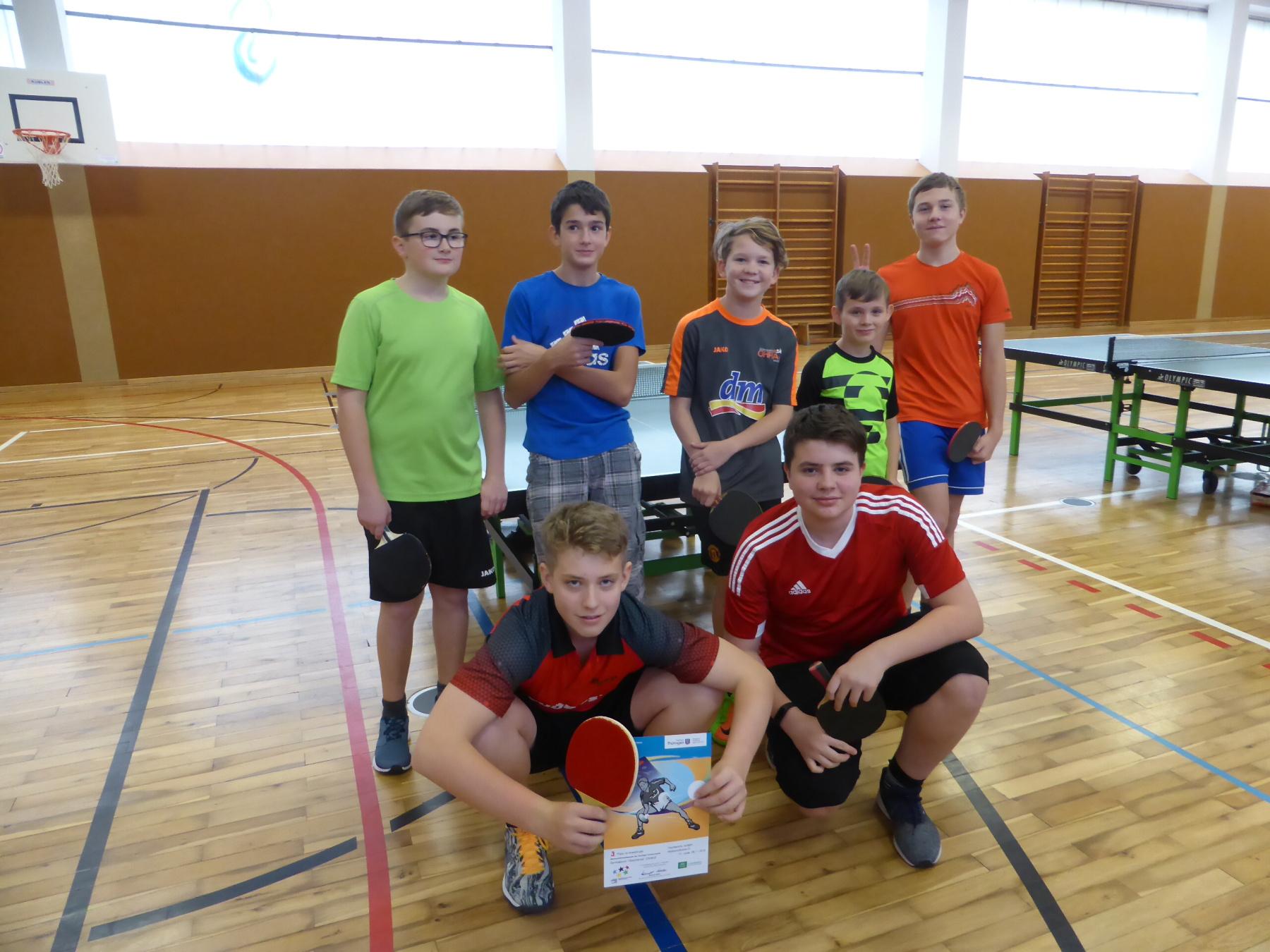 Tischtennis WK III Jungen
