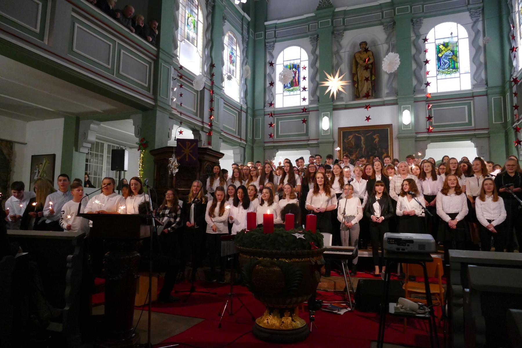 27. Weihnachtskonzert des Gymnasiums Gleichense in der Trinitatiskirche