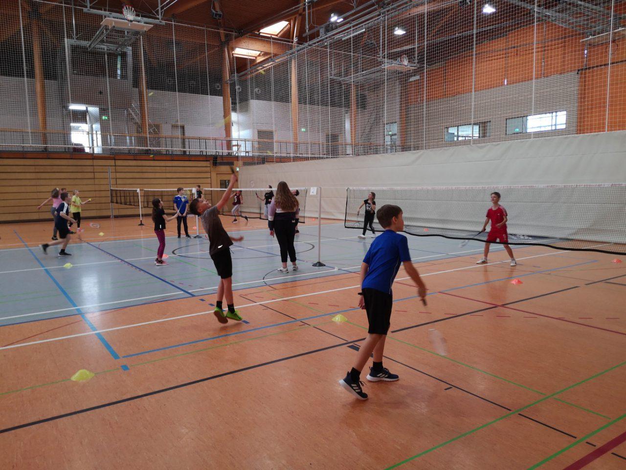 Auswertung Badmintonturnier vom 4.März 2020