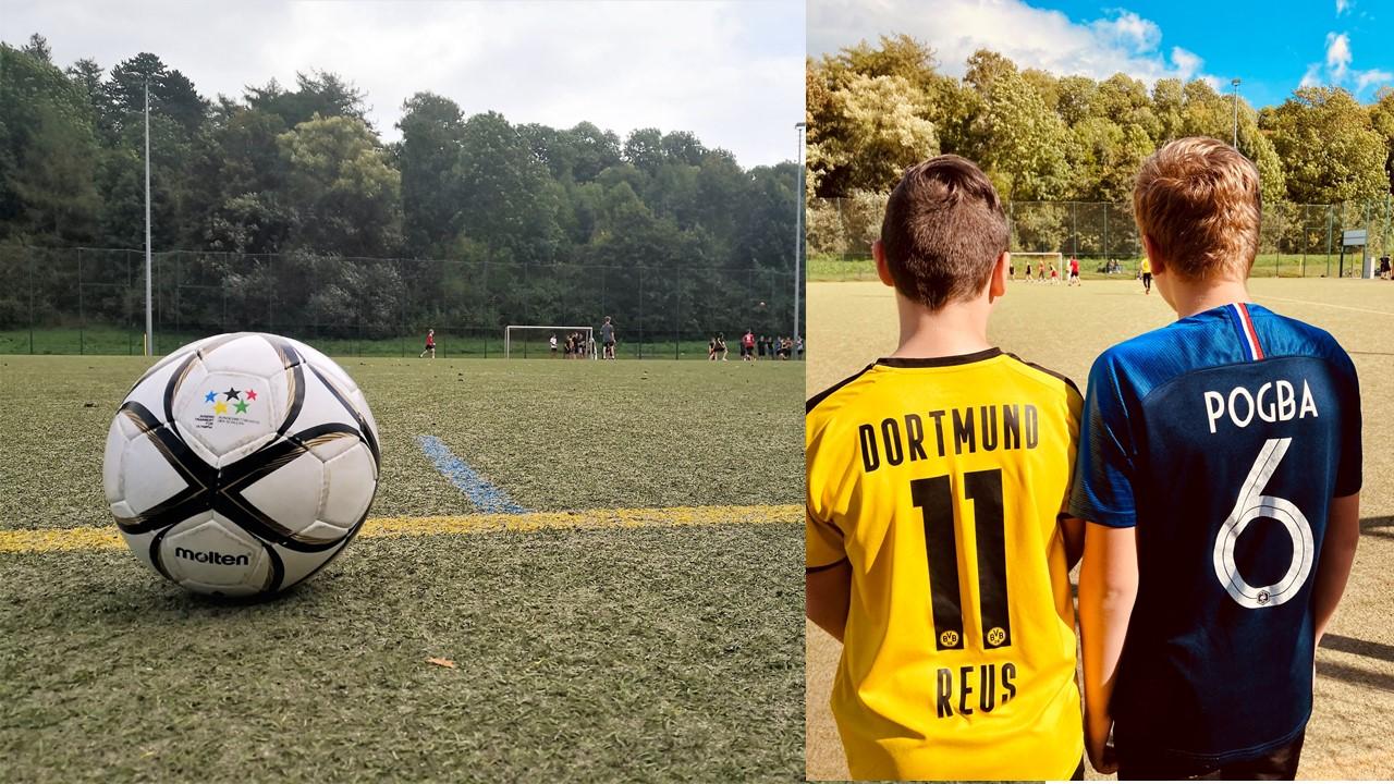 Gleichense im Fußballfieber