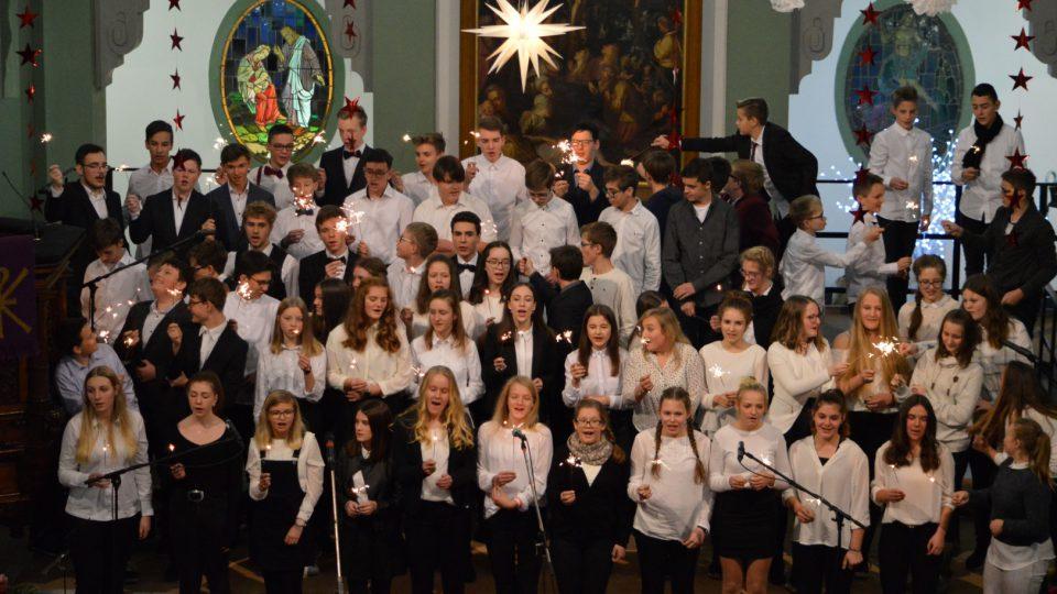 26. Weihnachtskonzert des Gymnasiums Gleichense in der Trinitatiskirche